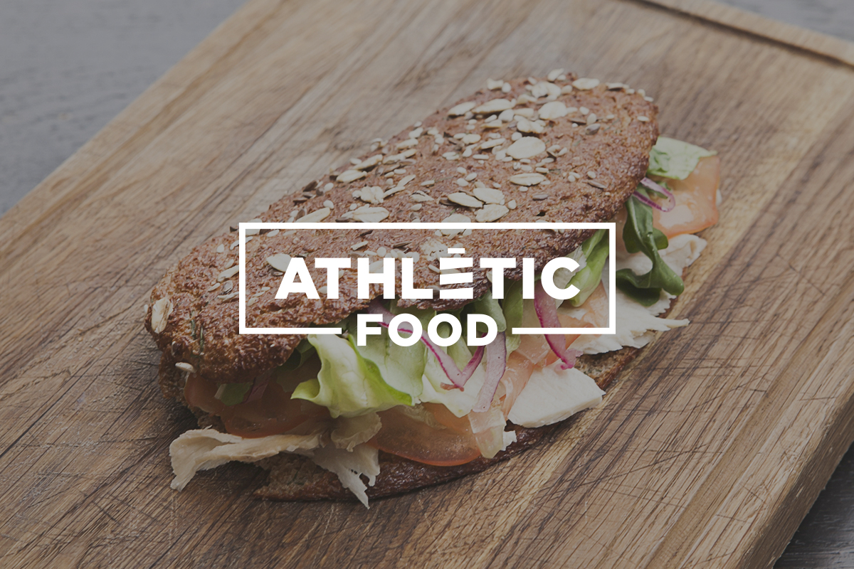 Логотип Athletic Food