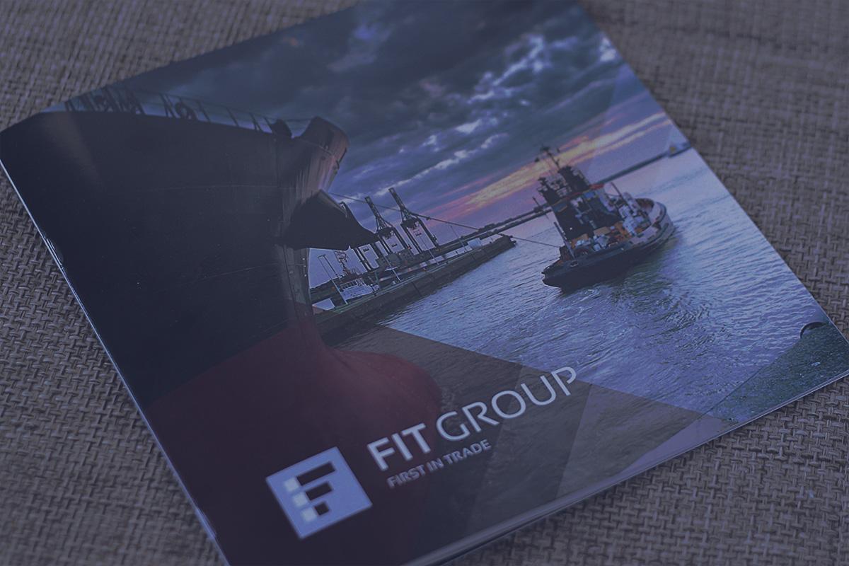 Брошюра логистической компании FIT Group