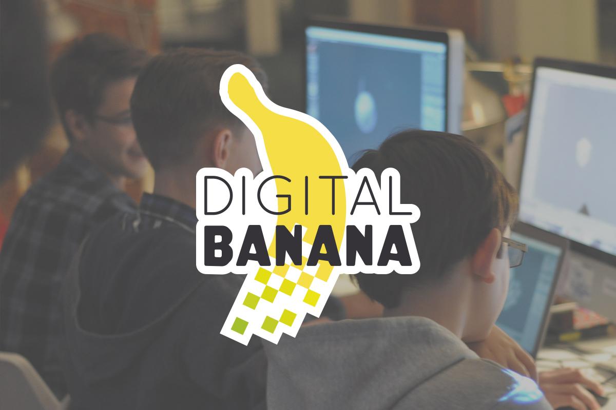 Логотип и стиль Digital Banana