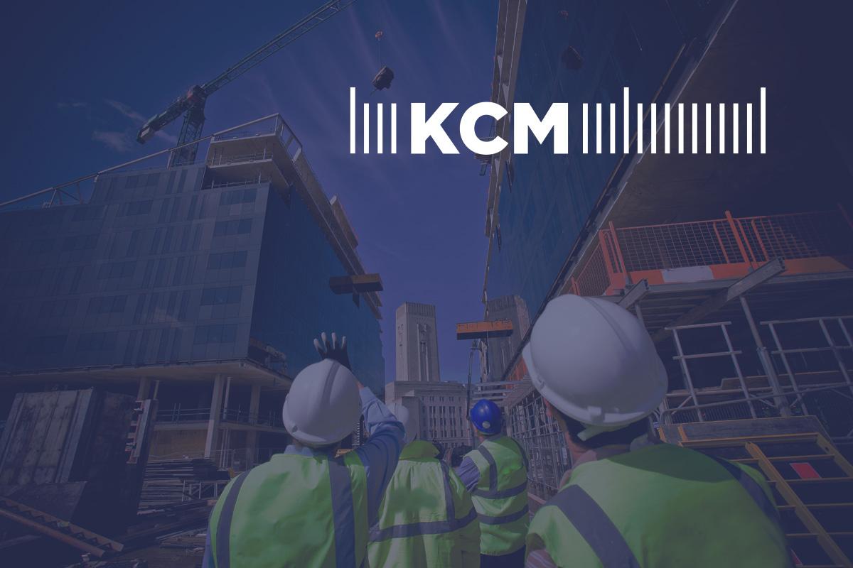 Логотип и стиль строительной компании КСМ