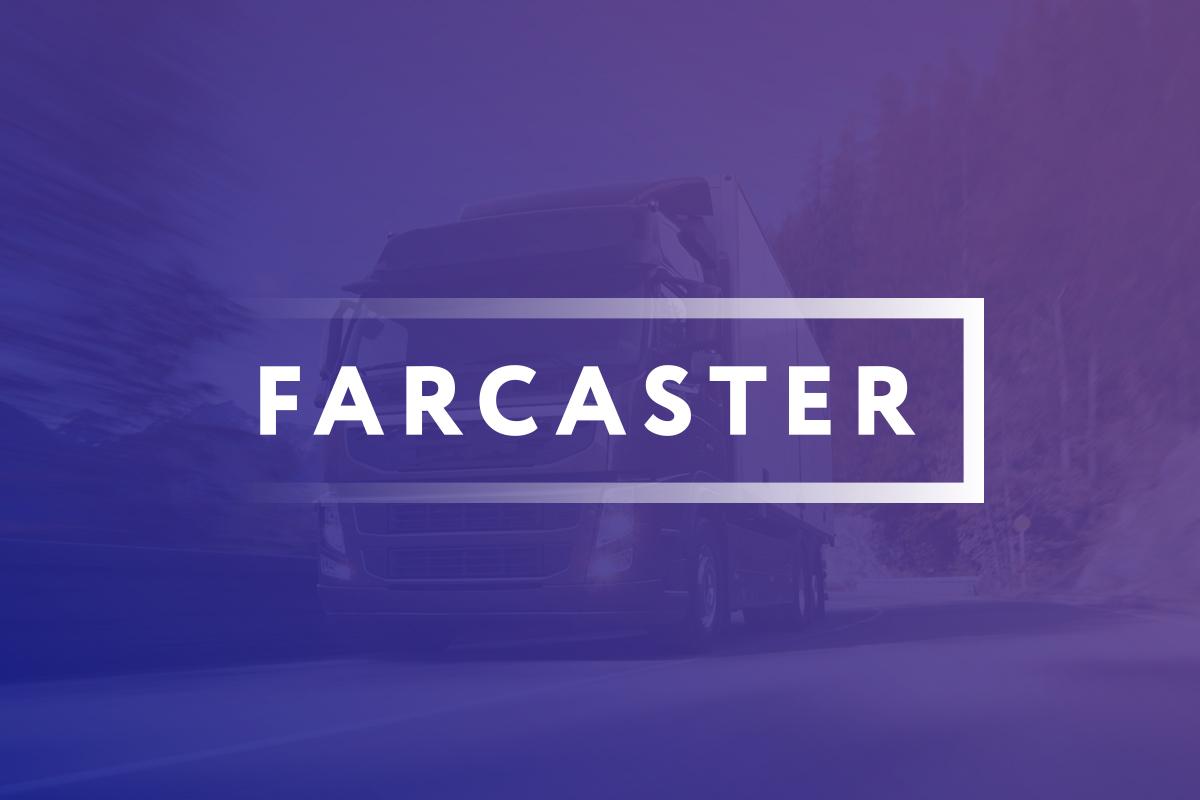 Логотип Farcaster